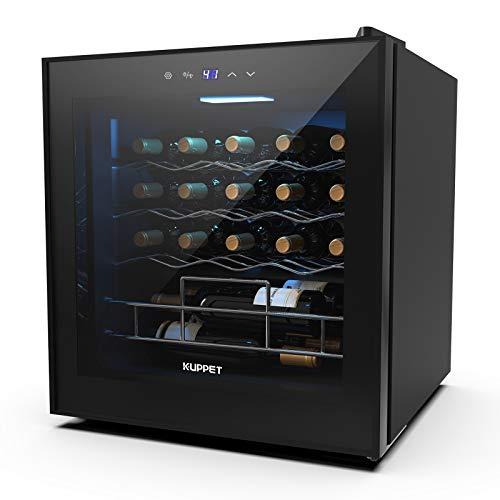 KUPPET 19 Bottles Wine Cooler/Fridge Beverage Refrigerator...