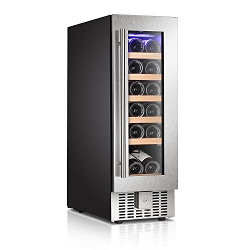Antarctic Star 12' Wine Cooler Beverage Refrigerator Beer...
