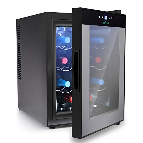 Nutrichef PKTEWC122 12 Bottle Thermoelectric Wine Cooler