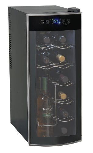 Avanti EWC1201 12 Bottle Thermoelectric Single Zone Wine Cooler