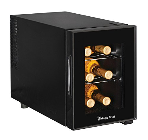 Magic Chef MCWC6B Thermoelectric Mini Wine Fridge